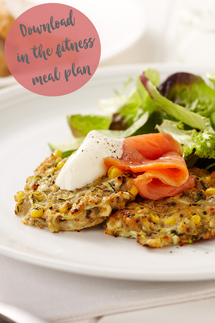 These zucchini and corn fritters can be anything from your breakfast to your dinner