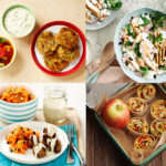 Menu planner recipe ideas from The Dairy Kitchen