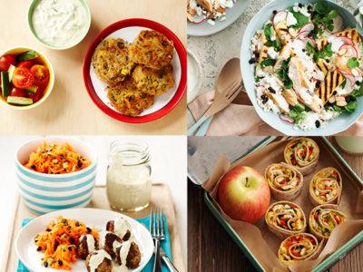 Menu planner recipe ideas from The Dairy Kitchen