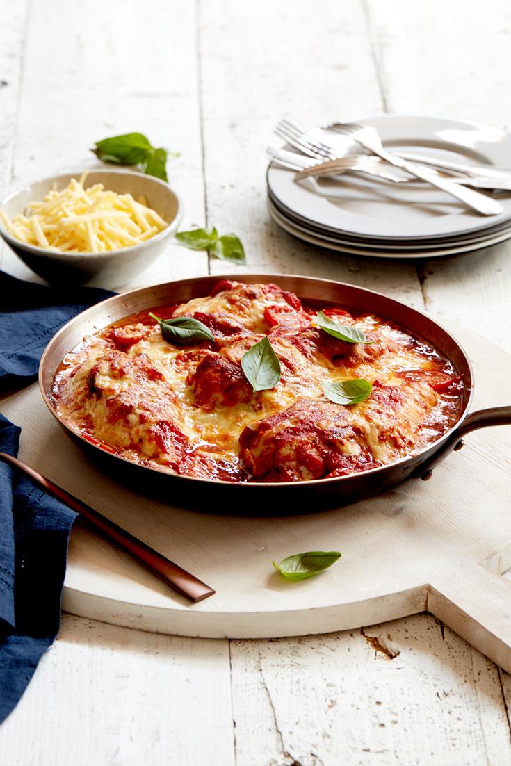 Make this Italian braised chicken in under 20 minutes