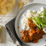 Slow cooked beef rogan josh