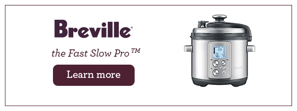 The Breville Fast Slow Cooker is the ultimate appliance that does both slow and pressure cooking