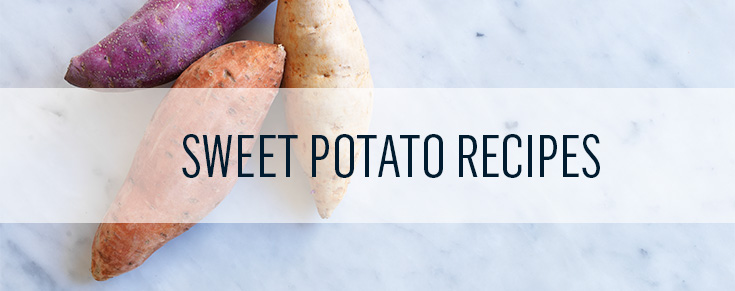 Sweet potato recipe ideas