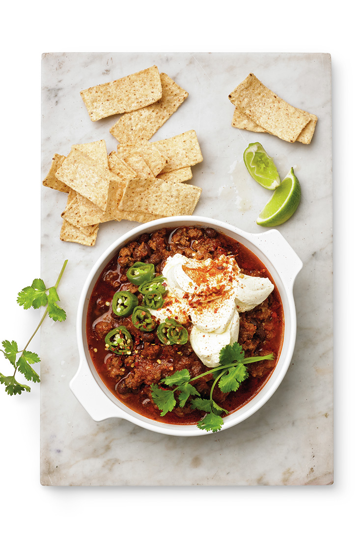 Get the best flavour out of chilli con carne when you slow cook it over 8 hours
