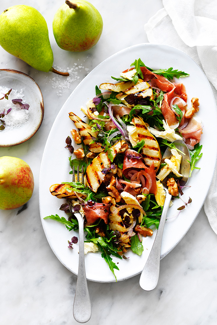 The perfect sweet and salty in this wonderful pear salad