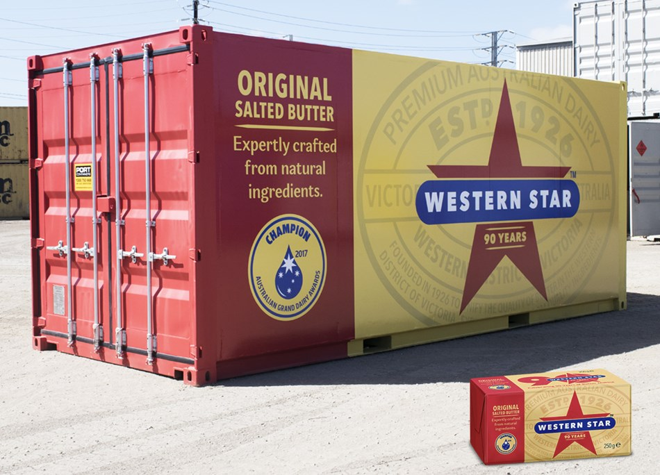 Western Star turns it's iconic butter packing into a truck to travel around Australia