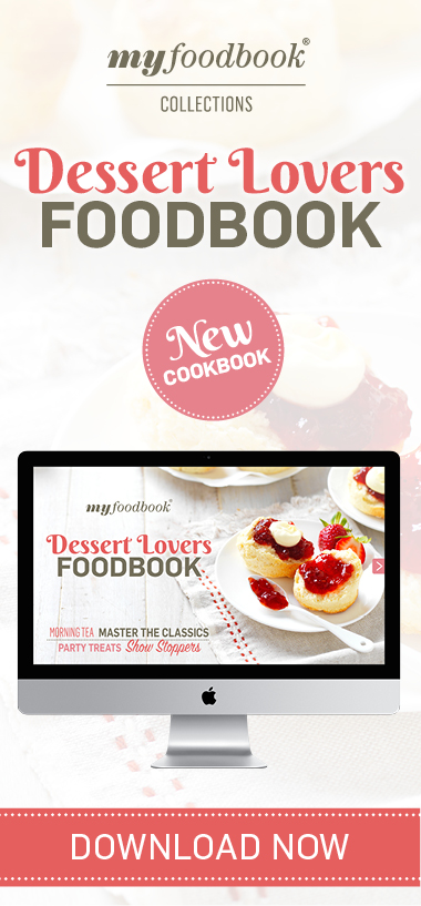 Dessert Lovers Foodbook2017