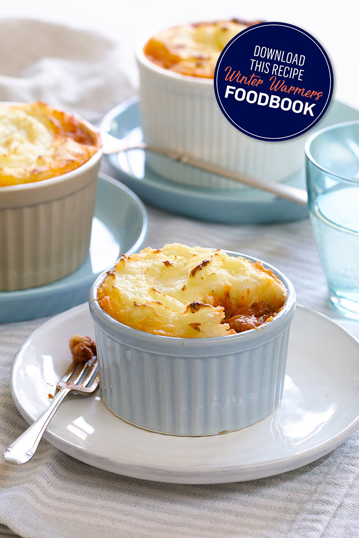 These easy and tasty mini shepherds pies are the perfect winter comfort dish. The classic winter warmers meal.