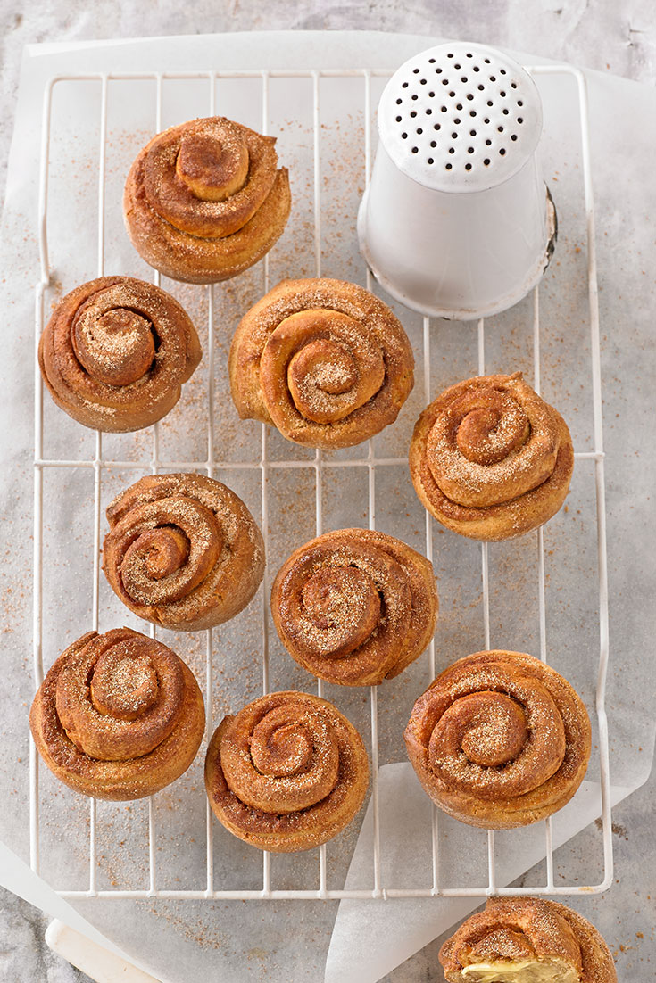 These scrumptious cinnamon scrolls will make for a winning brunch party.