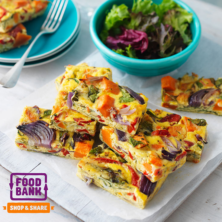 This baked vegetable slice recipe is the perfect finger food dish to serve up at your next gathering.