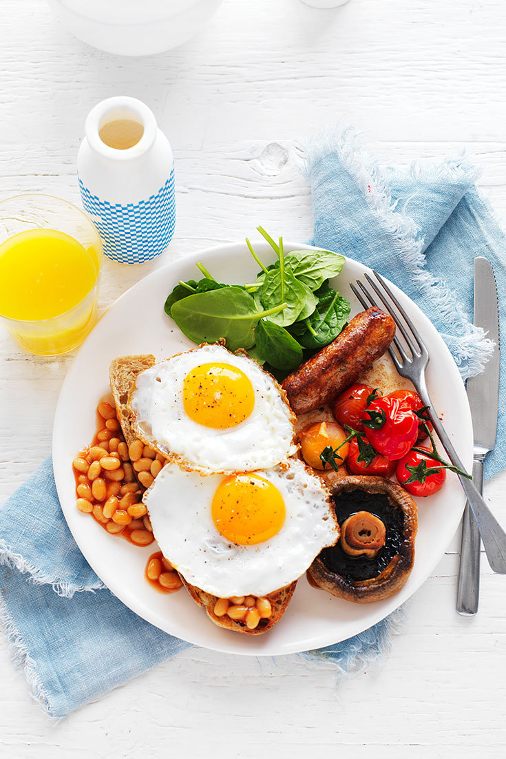 This delicious healthy big breakfast recipe is your perfect combination of flavour and ingredients.