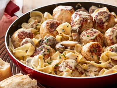 Chicken mince makes this easy chicken and ricotta meatballs recipe budget friendly and tasty.