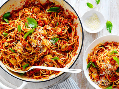 Add this ingredient to spaghetti bolognese
