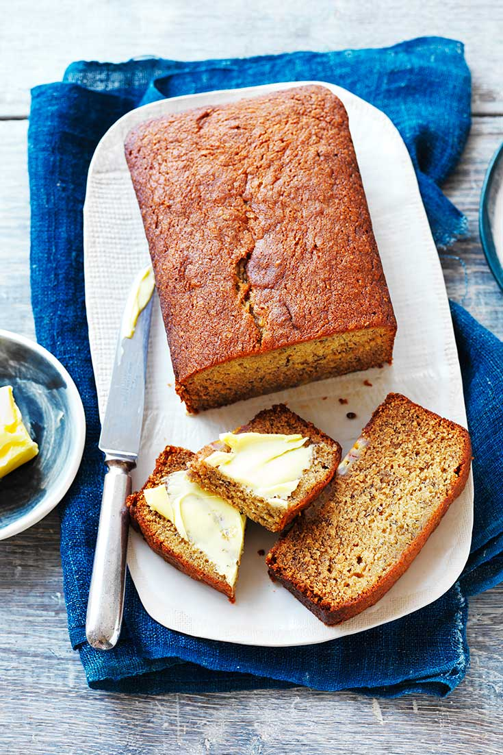This easy banana bread recipe is the perfect dessert and sweet treat to bring when you have been told not to bring a thing.
