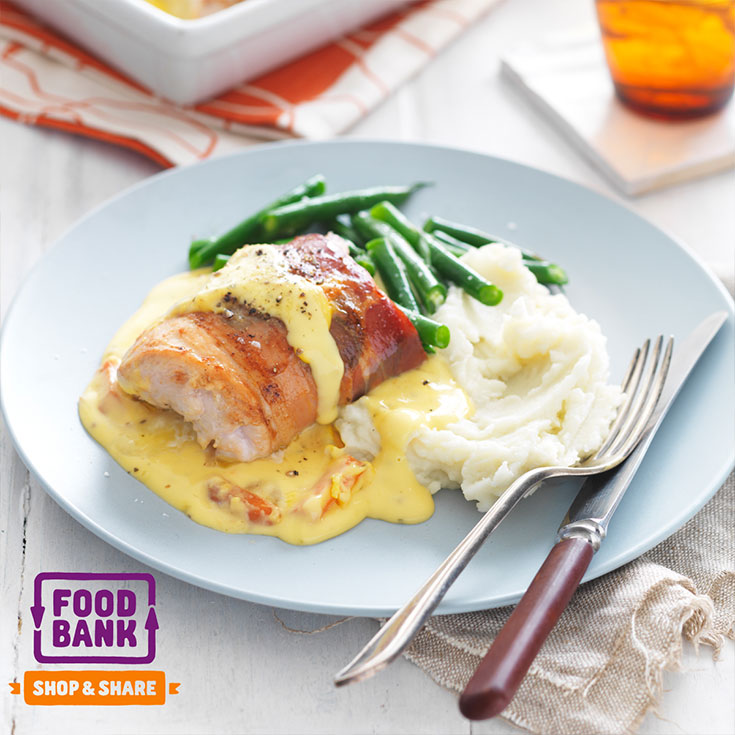 This involtni chicken baked with honey mustard sauce is a great contender for a easy weeknight family dinner idea.
