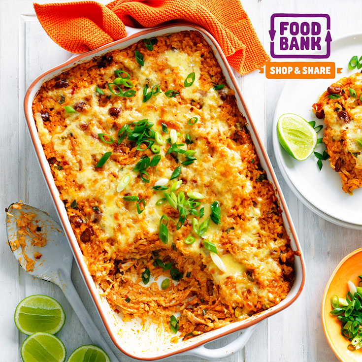 This tasty Mexican chicken and rice casserole recipe will be up the top of the family favourites list in no time.