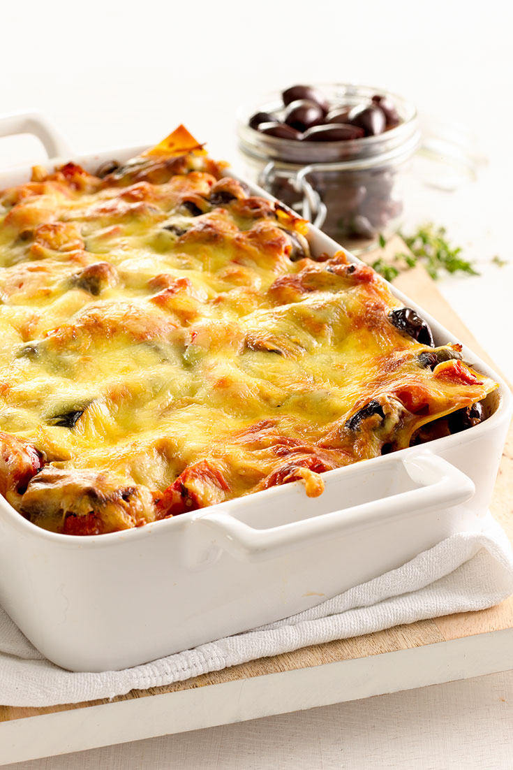This delicious ratatouille lasagne recipe is an easy dinner idea for busy weeknights.