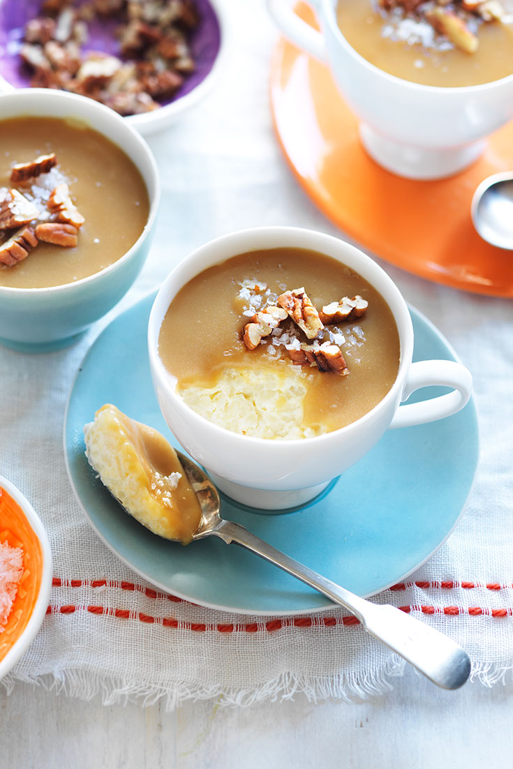 This scrumptious salted caramel pudding will be one that the whole family will enjoy.