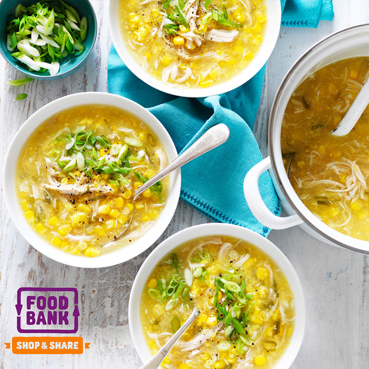 This easy and delicious chicken and corn soup recipe is a wonderful winter warming dinner idea for the whole family.
