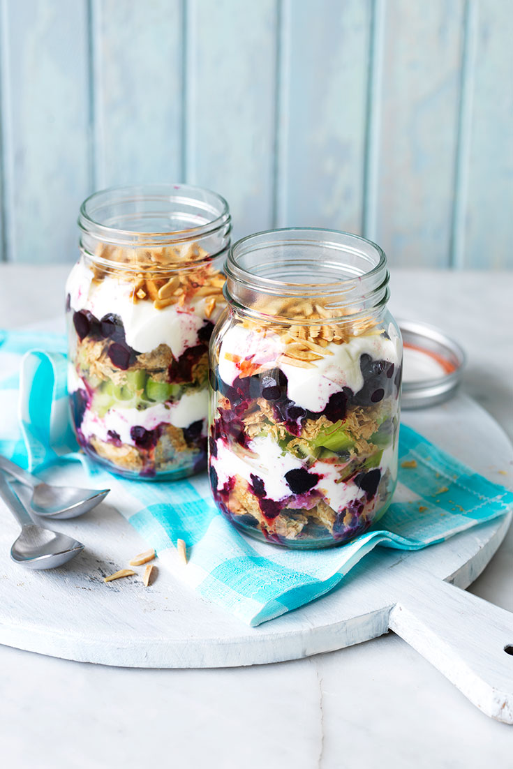 This delicious berry nice weet-bix breakfast in a jar recipe is the perfect on-the-go breakfast.