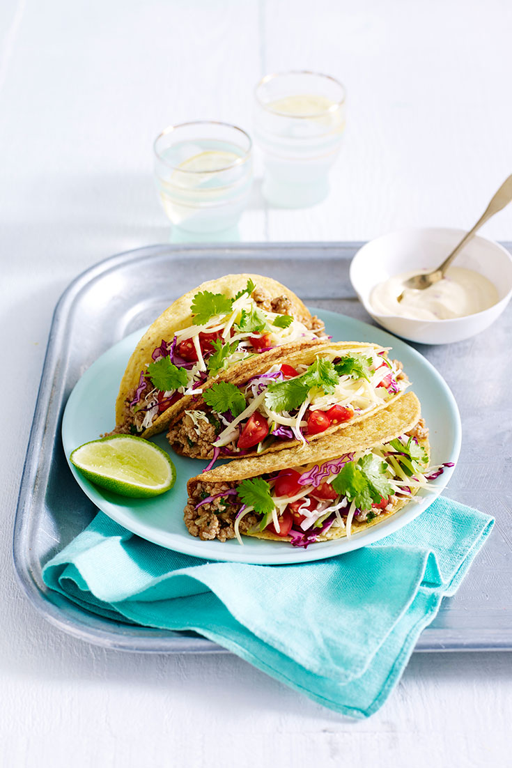 This delicious turkey taco recipe is the ultimate Father's Day lunch idea.