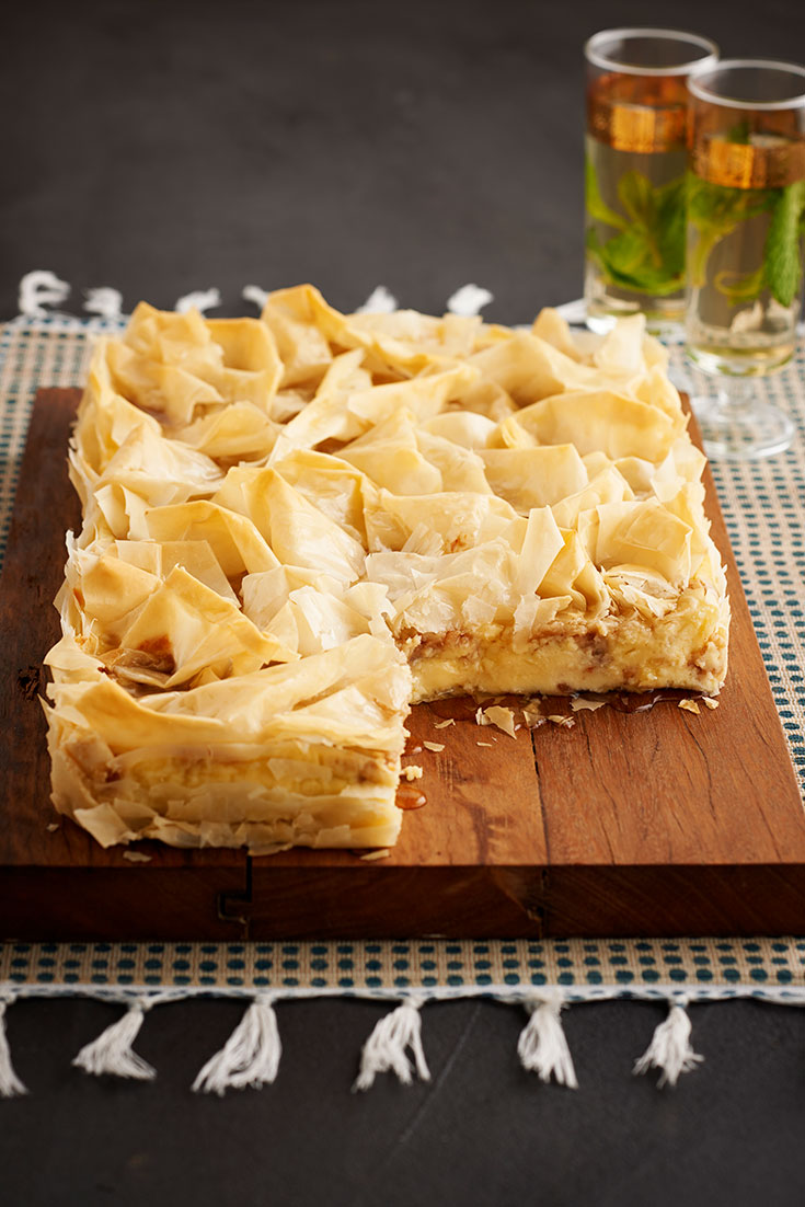 This stunning baklava cheesecake recipe is the ultimate show-stopping dessert to impress dad.