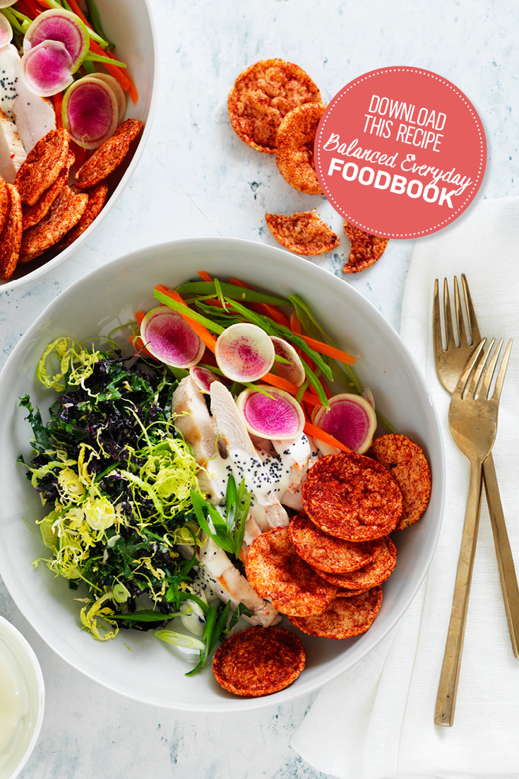 This delicious recipe found in the new Balanced Everyday Foodbook is the ultimate spring-ready dish.