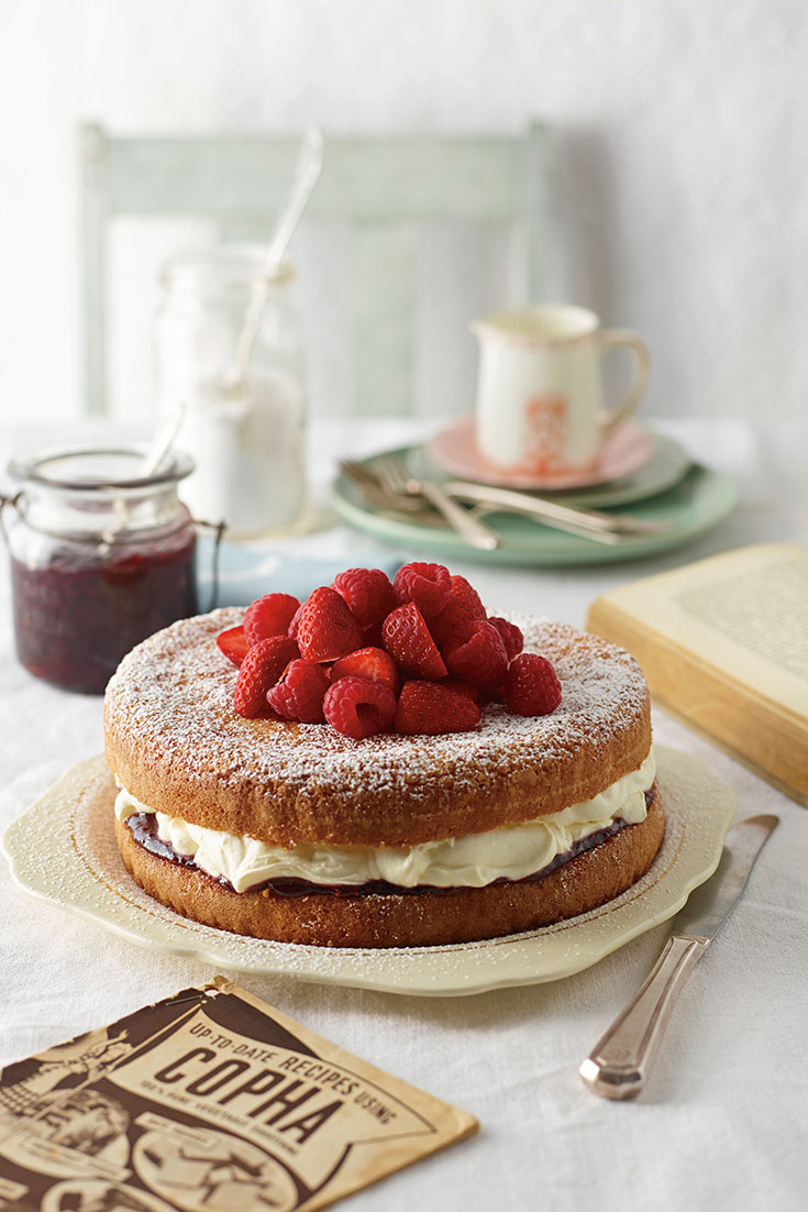 This easy jam and cream victorian tea cake recipe is the perfect cake for any occasion and knowing all the common baking fails it's not one to get wrong.