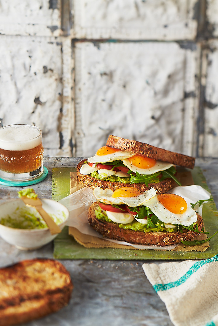 This easy fried egg sandwich is a simple but delicious dish to impress dad.