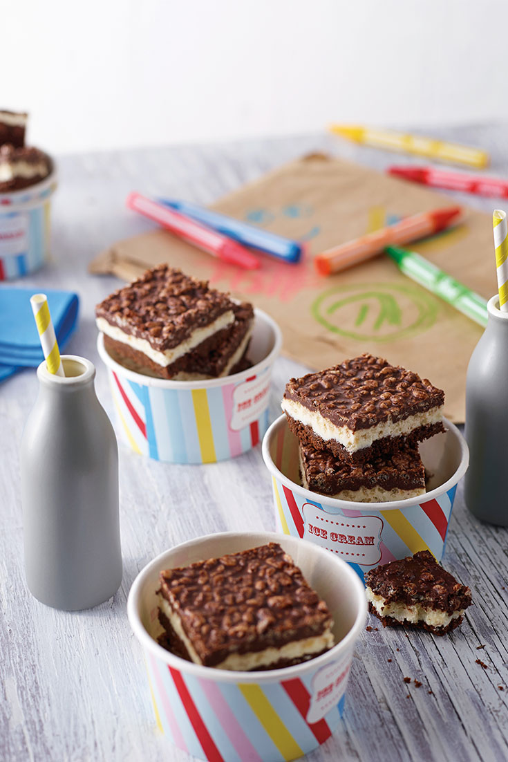 This easy layered chocolate slice makes for a delicious treat which both adults and kids will love.