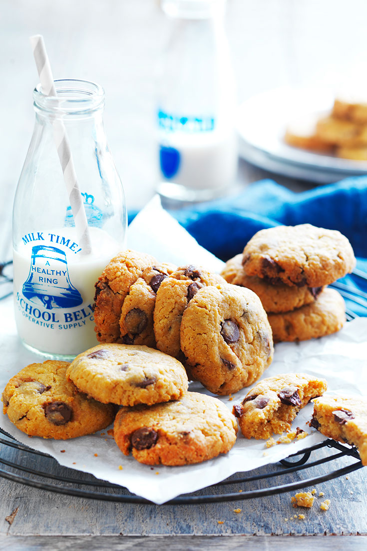 This easy chocolate chip cookie recipe can't be complete without flour. These cookies will go down a treat.