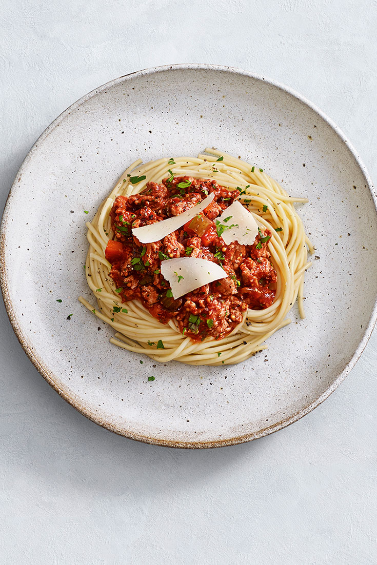 This easy turkey bolognese recipe is the ultimate family dinner idea perfect for busy weeknights.
