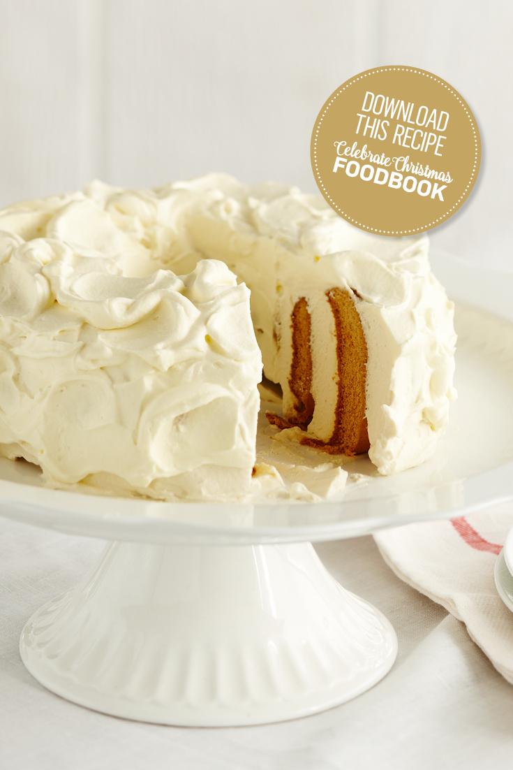 Star Gingerbread Cake Recipe