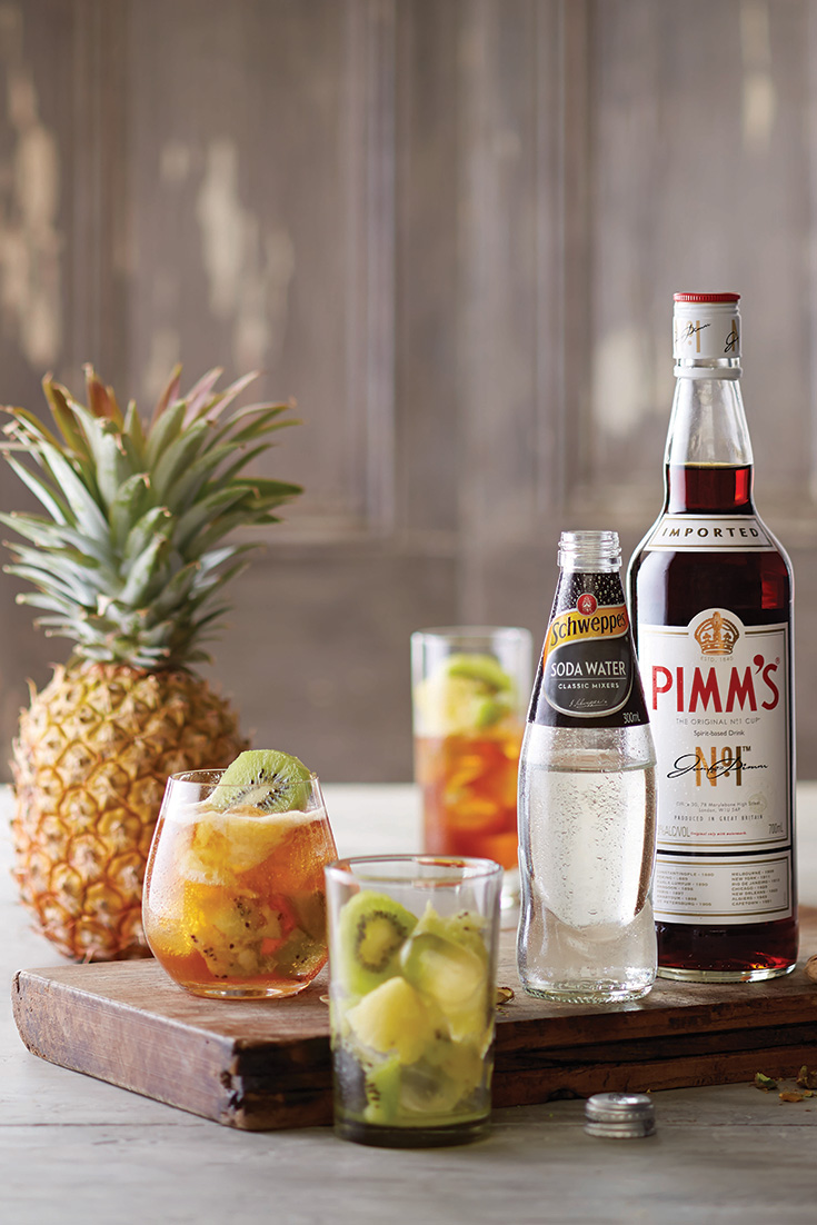 This easy and delicious Pimm's recipe is a refreshing cocktail perfect for summer.