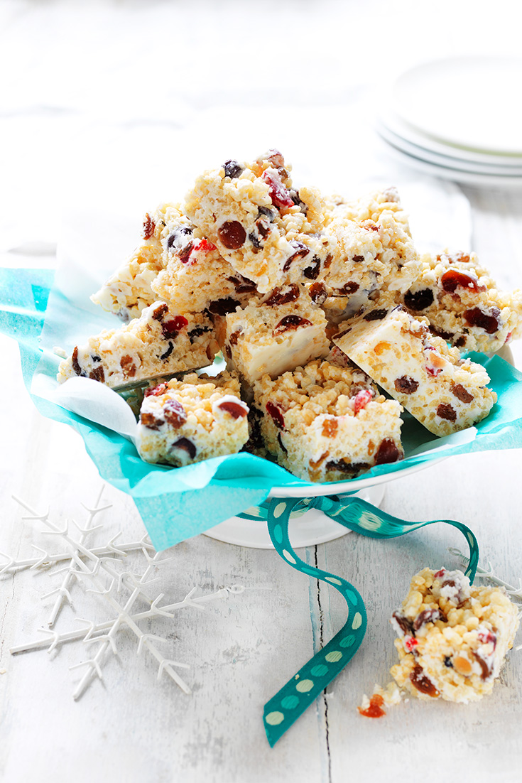 This easy white Christmas recipe makes for the perfect edible Christmas gift.