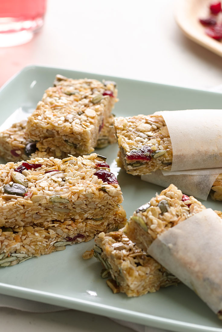 This quick and easy muesli bar recipe is perfect for kids lunch boxes and can be made in big batches.