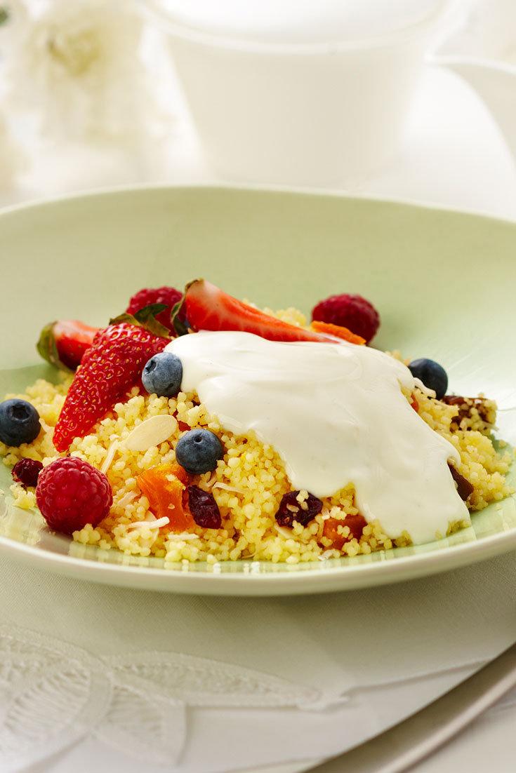 This easy breakfast couscous recipe is a great make-ahead breakfast idea.