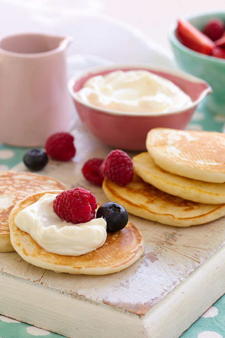 This easy pikelet recipe is a perfect snack and afternoon tea idea.