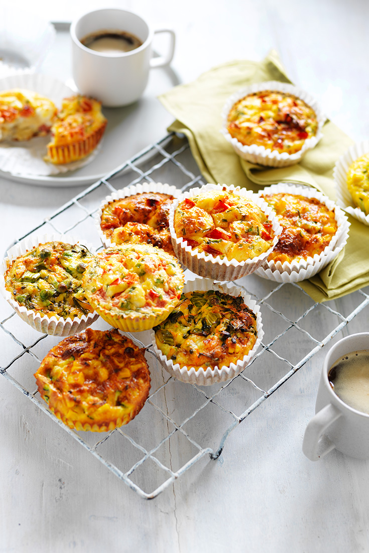 This quick and easy egg muffin recipe is ideal