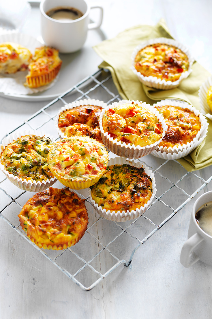 This easy egg muffins recipe can be enjoyed 3 ways and is perfect to pack into lunch boxes or as a on-the-go breakfast recipe.