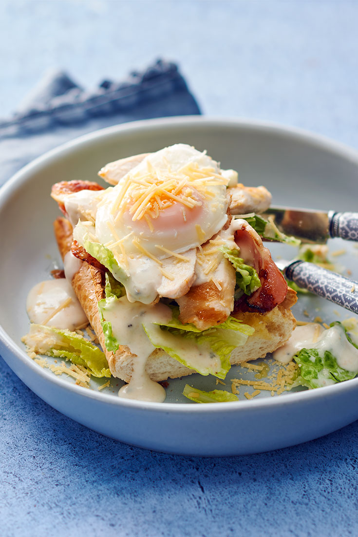This easy and quick chicken caesar salad is the ultimate mid-week lunch idea.