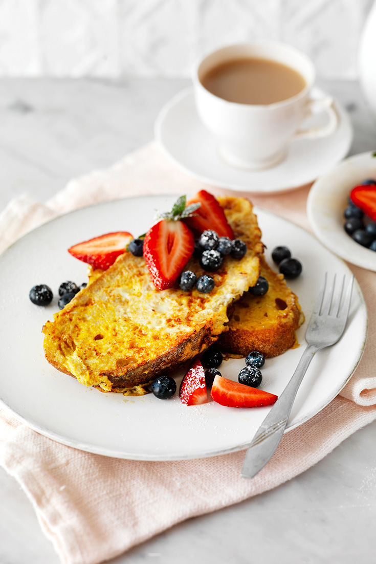 This easy French toast recipe just screams the weekend and your guests will be begging for more.