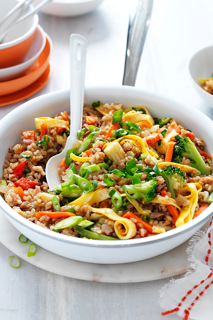 This quick and easy family friendly fried rice recipe is ideal for big batch cooking especially for the long weekend.