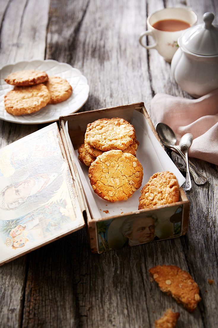 This traditional Anzac biscuit recipe are the ultimate biscuit to enjoy with a cup of tea and remember our troops on Anzac Day.