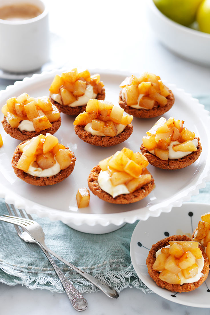 This easy pear and sour cream butternut cookies is the perfect 20 minute dessert