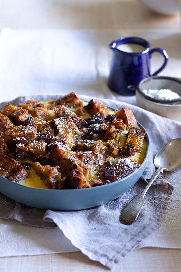 This bread and butter pudding recipe is the ultimate comforting winter dessert.