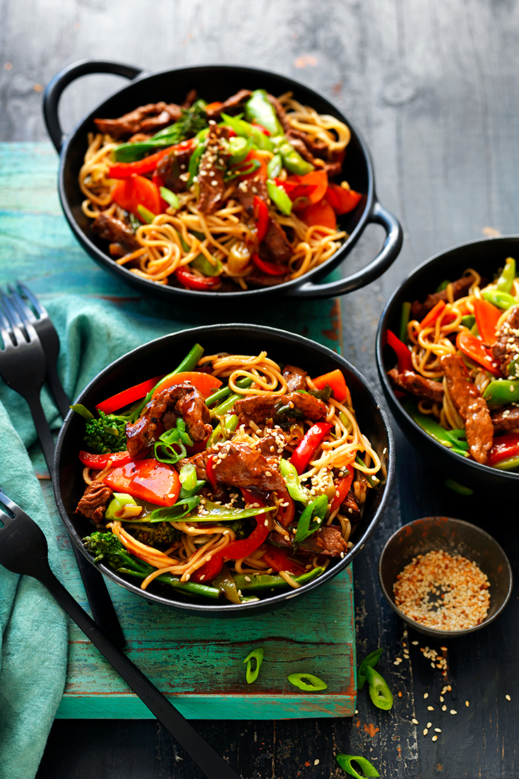 This quick and easy teriyaki beef noodles recipe is the ultimate weeknight dinner idea. Ready in 30 minutes.