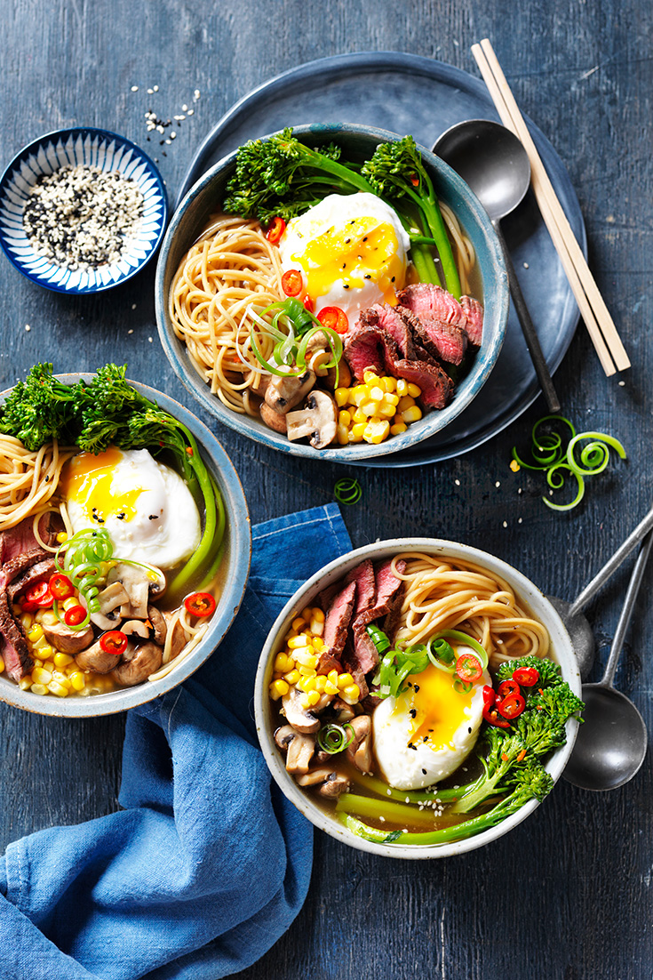 This stunning beef ramen recipe is the ultimate winter warming bowl. Great for families.