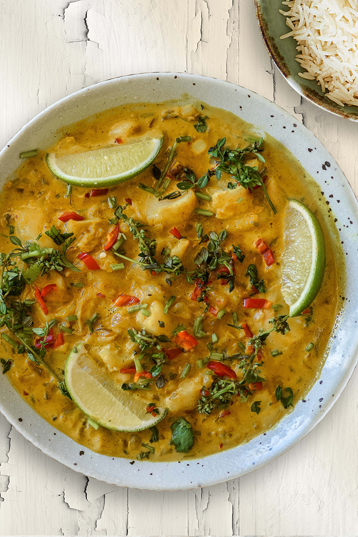 This easy Thai fish curry recipe, is a great way to get your weekly seafood serving.