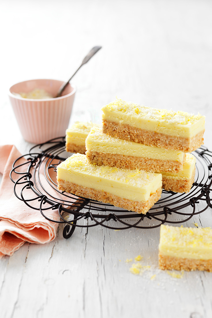 This easy lemon coconut slice recipe is the ultimate bite-sized treat perfect for any occasion.